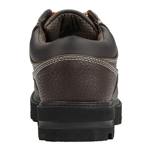 Lugz Mens Impero Lo Wr Thermabuck Stivale Scuro Marrone-nero-crema