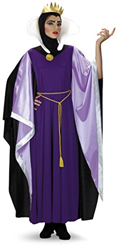 Disney Adult Snow White Costumes (Std Size Women (12-14) - Disneys TM Snow White  EVIL Queen Costume)