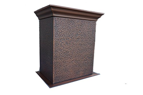 OEM 25''H Copper Extension Part for Copper Range Hood,Thr...