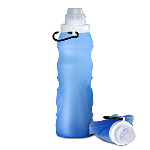 OuterEQ Collapsible Sports Water Bottle
