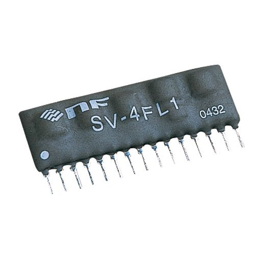 NF Corp. Resistor Tunable Filter SV-4FL1, Low Pass Filter by NF