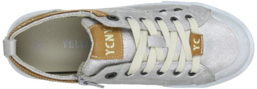 Yellow Cab Women's BOOGIE W Low-Top Trainer Silver - Silber (Silver) low price online cZX6QpT