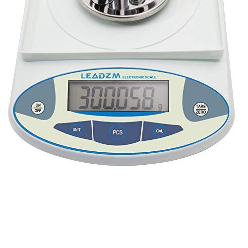 bf008a2a0c53 Goujxcy Balance Scale,High Precision Lab Digital Precision Analytical  Balance Lab Scale B3003T 300g / 0.001g Portable Electronic Balance  Laboratory ...