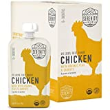 Serenity Kids, Paleo-Friendly Baby Food, Free Range Chicken with Organic Peas and Carrots, For 6+ Months, 3.5 Ounce Pouch (6 Pack)