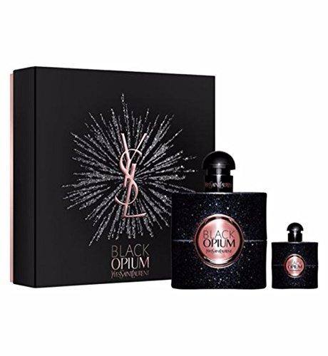 - Yves Saint Laurent Black Opium By Yves Saint Laurent 2 Piece Gift Set - 1.6 Oz Eau De Parfum Spray, 0.25 Oz Eau De Parfu