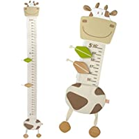 I'm Wood and Fabric Wall Growth Chart, Height...