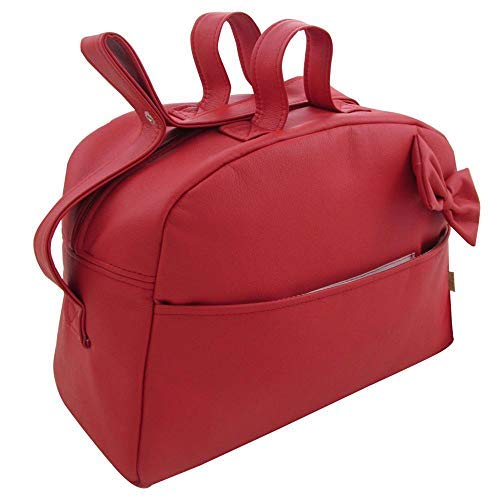 Suley Bolso Polipiel Para Carro Bebe - Color Rojo – 4 bolsillos: Amazon.es: Zapatos y complementos