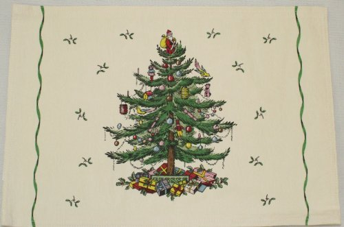 Spode Christmas Tree Placemats - Spode Christmas Tree 4 pc Placemat