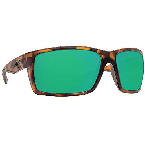 Costa Del Mar RFT66OGMP Reefton Sunglass, Matte Retro Tort Green - Costa Mar Reefton Del