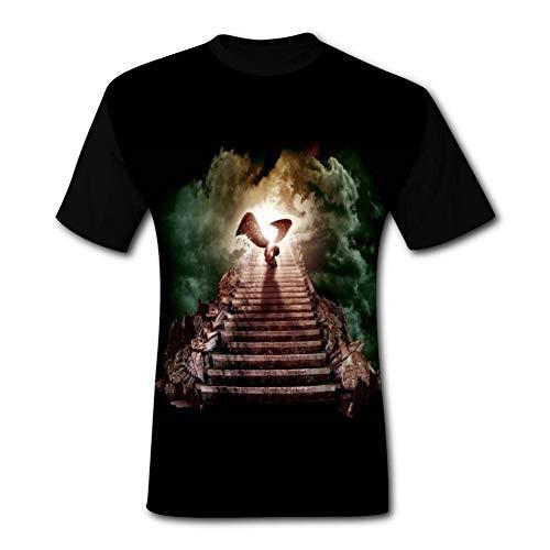 Stairway to Heaven LP-LED Zepp_elin T-Shirt Polo Fashion New Men