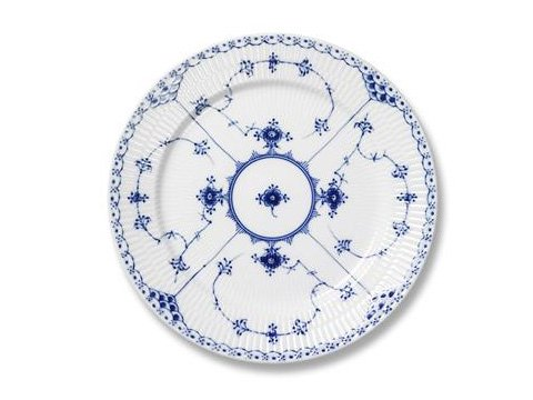 Royal Copenhagen Blue Fluted Half Lace 1102615 Bread and Butter Plate 6 Inch