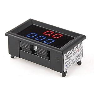Schema Elettrico Voltmetro Per Auto : Colemeter voltmetro amperometro digitale misuratore dc 100v 10a