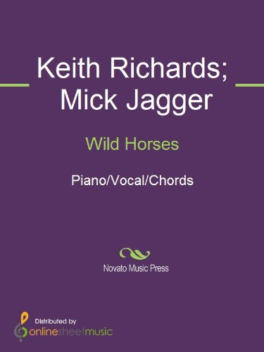 Wild Horses Kindle Edition By Keith Richards Mick Jagger The
