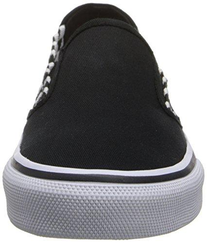 Bobs Van Skechers Dames De Menace Flexor Fashion Sneaker Zwart / Wit