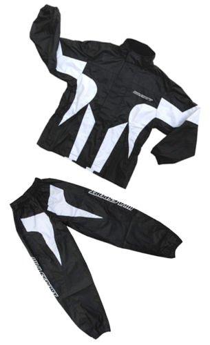 Blue 5-7 years Wulfsport Kids Race MX Wet Weather Over Motocross Suit Children Motorbike Top /& Pants Set