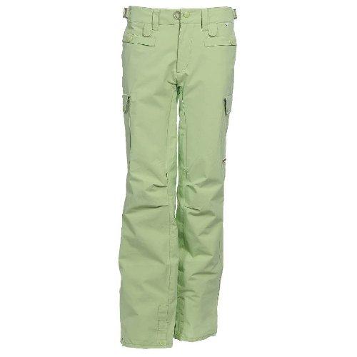 Foursquare Newberry Snowboard Pants Asparagus Gr. L 25K Damen Skihose Schneehose Snowboardhose