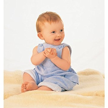 - Luxuriously Soft Lambskin Baby Rug - Bowron Babycare Shorn