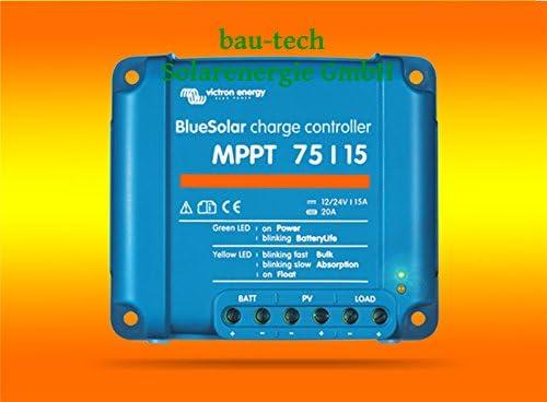 Victron 15Amper MPPT Laderegler 75/15 für 12V oder 24V Systemen von bau-tech Solarenergie GmbH
