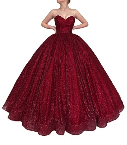 Meijia Long Prom Quinceanera Dresses 2019 Spaghetti Strap Evening Party Ball Gowns for Wedding ME066