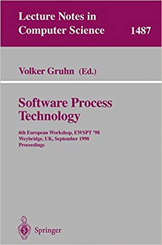 Book Software Process Technology: 6th European Workshop, EWSPT'98, Weybridge, UK, September 16-18, 1998, Proceedings (Lecture Notes in Computer Science)