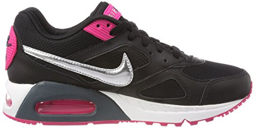 Nike Women's WMNS Air Max Ivo Trainers Black (Black/Black/Metallic Silver) free shipping best sale outlet collections quality from china cheap sale very cheap clearance store cheap online DVS0AcJEO