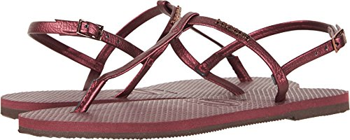 Grape Riviera Wine You 4137475 Womens Havaianas Sandal nxPFXwR