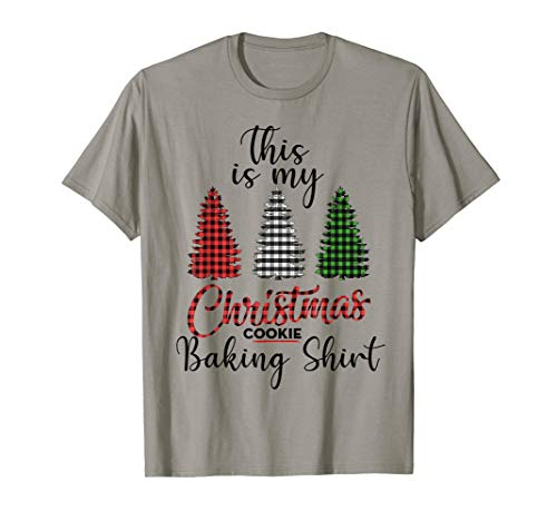This is My Christmas Cookie Baking Shirt Xmas Tree Gift T-Shirt (Christmas Tree Cookies)