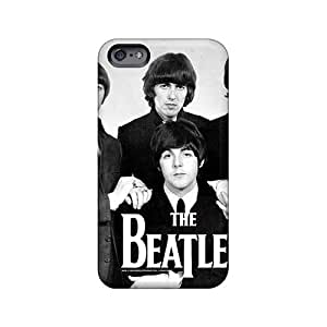Excellent Hard Cell-phone Cases For iphone 4s With Unique Design Colorful The Beatles Pattern SherriFakhry