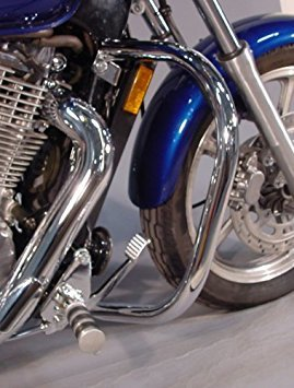 Highway Bars Mc Enterprises (MC Enterprises Engine Guard Full Size 1-1/4 Chrome Hon Shadow 1100 Spirit 97-08)