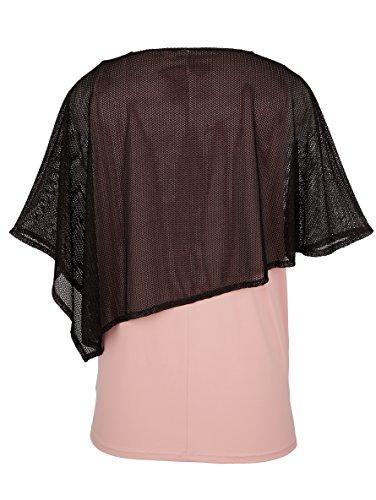 MIAMODA Damen Shirt in 2-in-1 Optik Keine/Nicht Relevant by Rosé 02ICXCn3F