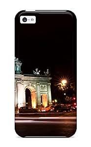 Hot High Quality Puerta De Alcal?? Tpu Case For Iphone 5c 2950176K13717426