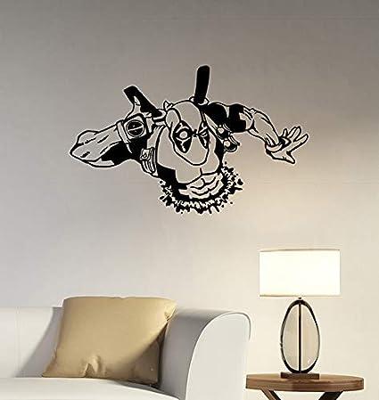 Amazon.com: Deadpool Wall Decal Vinyl Sticker Marvel Comics ...