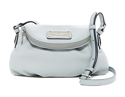 Marc by Marc Jacobs Mini Natasha Leather Handbag (Ice) - Marc Jacobs White Bag