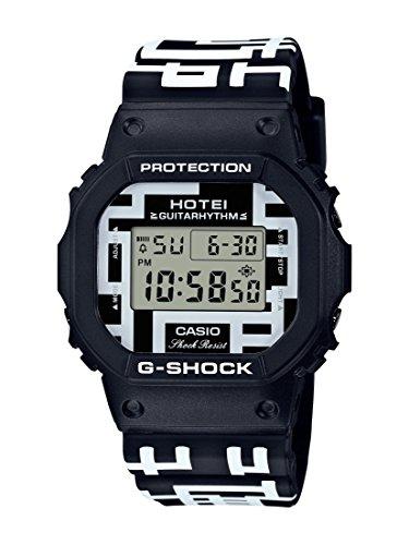 Casio DW5600HT-1 G Shock Unisex Watch Black/White 44mm Resin