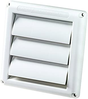Deflecto 4 Inch Supurr Louvered Outdoor Dryer Vent Hood