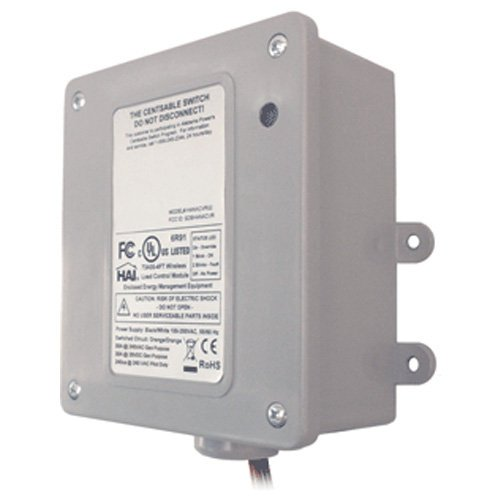 Leviton 73A00-3ZB Wireless Load Control Module, 30-Amp