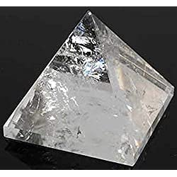 "AAA Grade Crystal Quartz Pyramid Base Approx. 1.75-2"" Inches 