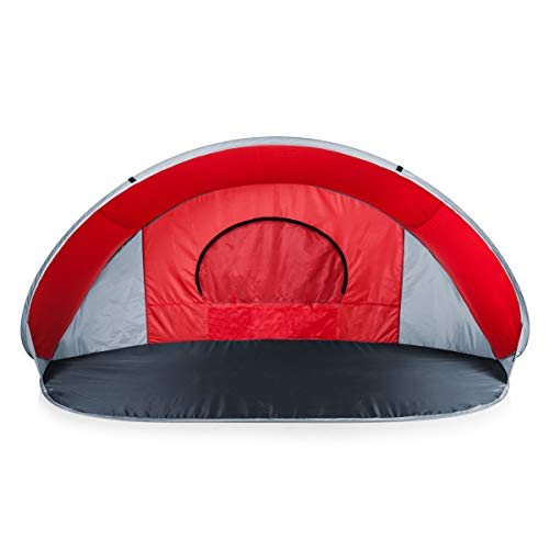 ONIVA - a Picnic Time Brand Manta Portable Pop-Up Sun/Wind Shelter, Red