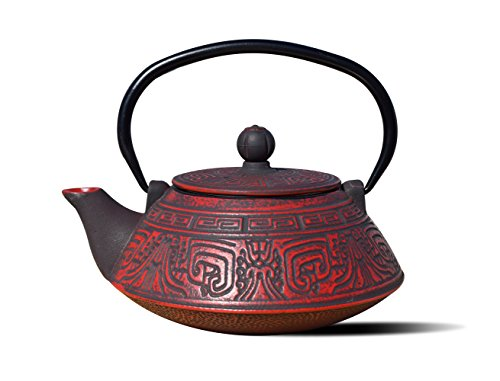 - Old Dutch International 1076RD Red/Black Cast Iron