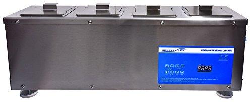 SharperTek XPS-15L-4T Multi Tank Ultrasonic Cleaner, 4.5 ...