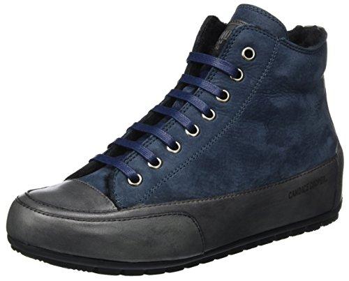 Candice Cooper Damen Nabuk Hohe Sneaker Blau (Navy)