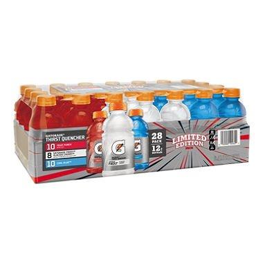 Gatorade Liberty Variety Pack (12 oz. bottles, 28 pk.) (Bottle 12 Gatorade Oz Water)