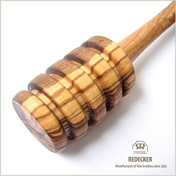 Redecker Oiled Olive Wood Honey Scoop, 6-1/8-Inches by REDECKER (Image #1)
