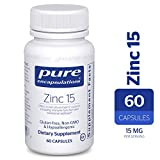 Pure Encapsulations – Zinc 15 – Zinc Picolinate (15 mg.) Highly Absorbable Hypoallergenic Supplement for Immune Support* – 60 Capsules For Sale