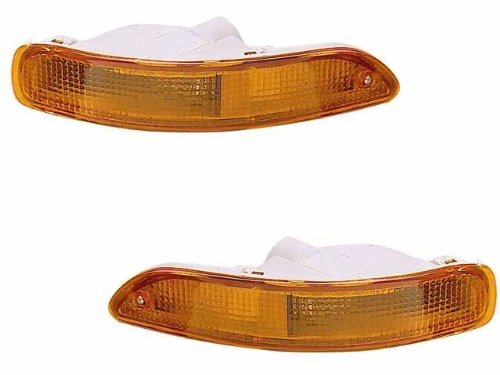 Toyota Corolla 93-97 Corner Signal Lights - OEM Style Lamps Pair Set Left & Right