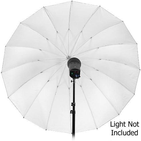 Fotodiox Pro 72in Black and White Reflective Parabolic 16-Rib Umbrella