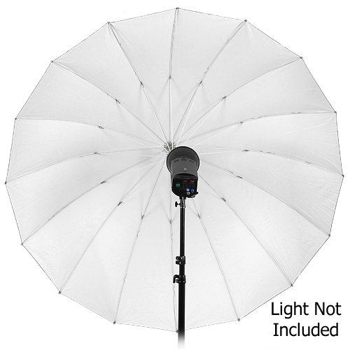 Fotodiox Pro 16-Rib, 72'' Black and White Reflective Parabolic Umbrella