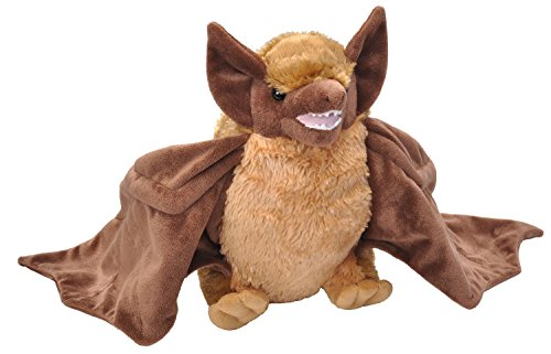 Wild Republic Brown Bat Plush, 12