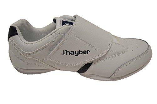 JHayber Wajane - Zapatillas deportivas de piel para hombre, con cierre de velcro