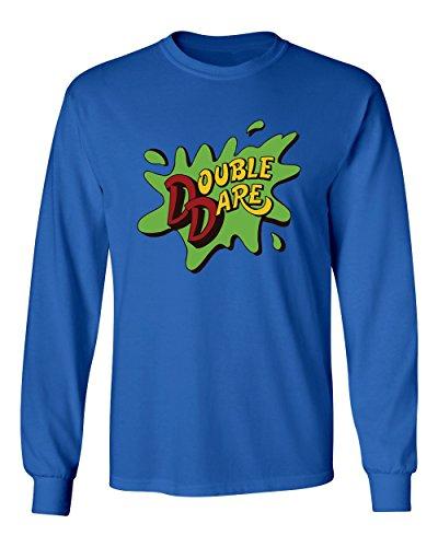 Dare S/s Tee - Double Dare Men's Long Sleeve T Shirt (Royal,S)